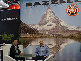 Bazzell at Drupa 2012